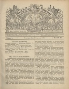 Posłaniec Niedzielny, 1897, R. 3, Nr 5