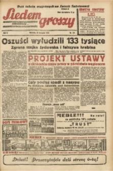 Siedem Groszy, 1936, R. 5, nr 321