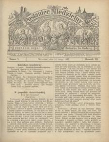 Posłaniec Niedzielny, 1897, R. 3, Nr 7