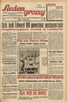 Siedem Groszy, 1936, R. 5, nr 338