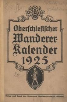 Oberschlesischer Wanderer-Kalender, 1925