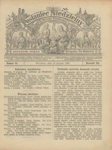 Posłaniec Niedzielny, 1897, R. 3, Nr 35
