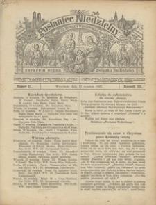 Posłaniec Niedzielny, 1897, R. 3, Nr 37