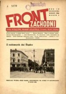 Front Zachodni, 1936, R. 4, nr 3