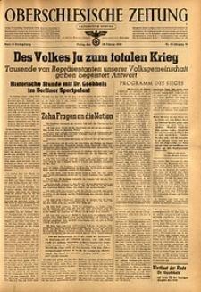 Oberschlesische Zeitung, 1943, Jg. 75, Nr. 50