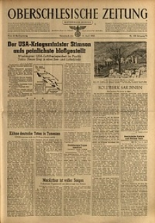 Oberschlesische Zeitung, 1943, Jg. 75, Nr. 100