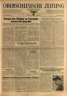 Oberschlesische Zeitung, 1943, Jg. 75, Nr. 132