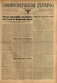 Oberschlesische Zeitung, 1943, Jg. 75, Nr. 226