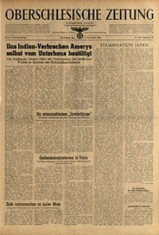 Oberschlesische Zeitung, 1943, Jg. 75, Nr. 307