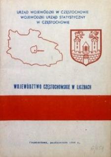 Województwo częstochowskie w liczbach i perspektywy jego rozwoju w latach 1986-1990