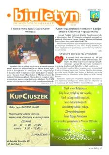 Biuletyn Informacyjny Miasta Kalety, 2011, nr12 (235)