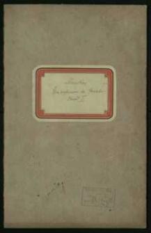 Wybory do Senatu 1922 r. – alfabetyczny spis wyborców. Obwód I