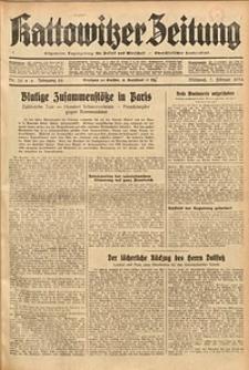 Kattowitzer Zeitung, 1934, Jg. 66, Nr. 30