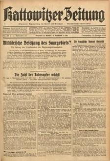 Kattowitzer Zeitung, 1934, Jg. 66, Nr. 37