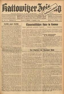 Kattowitzer Zeitung, 1934, Jg. 66, Nr. 38