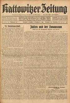 Kattowitzer Zeitung, 1934, Jg. 66, Nr. 45
