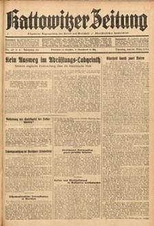 Kattowitzer Zeitung, 1934, Jg. 66, Nr. 65