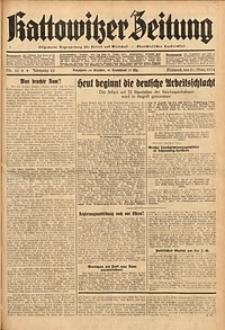 Kattowitzer Zeitung, 1934, Jg. 66, Nr. 66