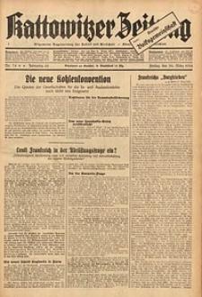 Kattowitzer Zeitung, 1934, Jg. 66, Nr. 74