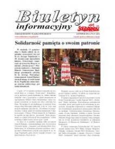 """Biuletyn Informacyjny """"Solidarność"""" 2014, nr 11 (366)."""