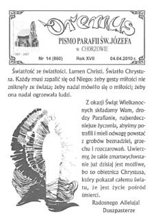 Oremus, 2010, R.16, nr14 (860)