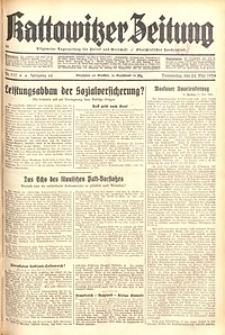 Kattowitzer Zeitung, 1934, Jg. 66, Nr. 117