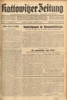 Kattowitzer Zeitung, 1934, Jg. 66, Nr. 122
