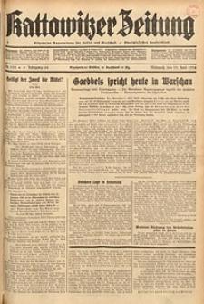 Kattowitzer Zeitung, 1934, Jg. 66, Nr. 133