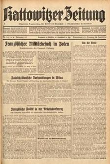 Kattowitzer Zeitung, 1934, Jg. 66, Nr. 142