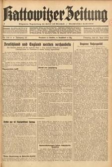 Kattowitzer Zeitung, 1934, Jg. 66, Nr. 144