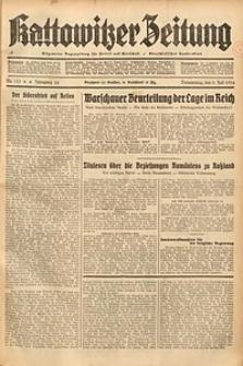 Kattowitzer Zeitung, 1934, Jg. 66, Nr. 151