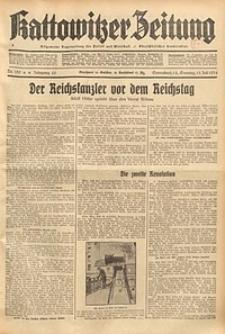 Kattowitzer Zeitung, 1934, Jg. 66, Nr. 159