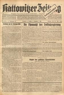 Kattowitzer Zeitung, 1934, Jg. 66, Nr. 164