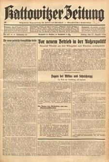 Kattowitzer Zeitung, 1934, Jg. 66, Nr. 187