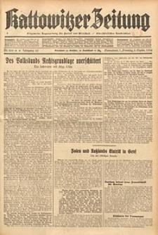 Kattowitzer Zeitung, 1934, Jg. 66, Nr. 200