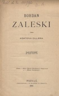 Bohdan Zaleski