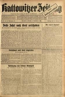 Kattowitzer Zeitung, 1935, Jg. 67, Nr. 9