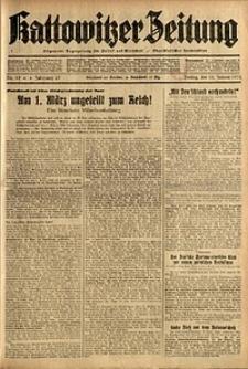 Kattowitzer Zeitung, 1935, Jg. 67, Nr. 15
