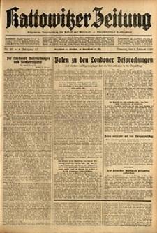 Kattowitzer Zeitung, 1935, Jg. 67, Nr. 29
