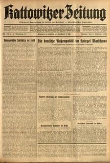 Kattowitzer Zeitung, 1935, Jg. 67, Nr. 32