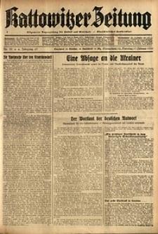 Kattowitzer Zeitung, 1935, Jg. 67, Nr. 39