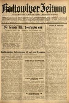 Kattowitzer Zeitung, 1935, Jg. 67, Nr. 45