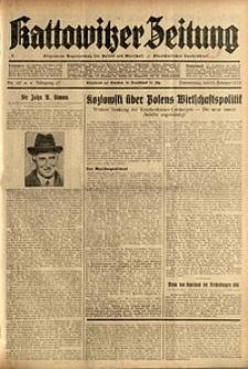 Kattowitzer Zeitung, 1935, Jg. 67, Nr. 49