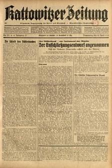 Kattowitzer Zeitung, 1935, Jg. 67, Nr. 91
