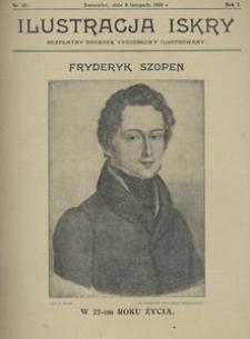 Ilustracja Iskry. Bezpłatny dodatek tygodniowy ilustrowany 1924, nr 10