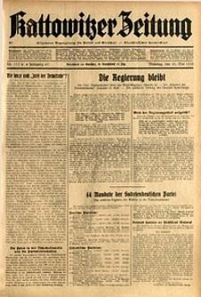 Kattowitzer Zeitung, 1935, Jg. 67, Nr. 117
