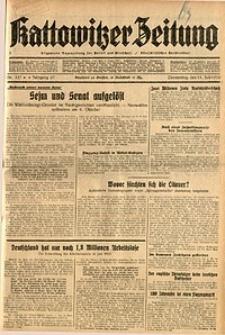 Kattowitzer Zeitung, 1935, Jg. 67, Nr. 157