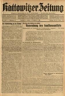 Kattowitzer Zeitung, 1935, Jg. 67, Nr. 223