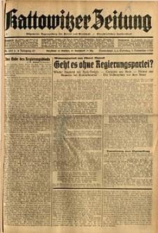 Kattowitzer Zeitung, 1935, Jg. 67, Nr. 253