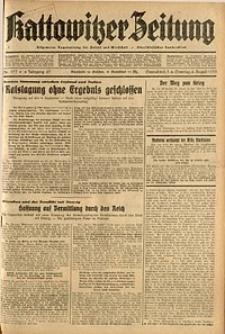 Kattowitzer Zeitung, 1935, Jg. 67, Nr. 177